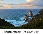 sunset over cape cabo da roca ... | Shutterstock . vector #751824649