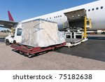 loading platform of air freight