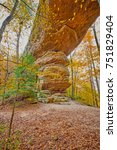 Twin Arches Trail, South Arch at Big South Fork National River and Recreation Area, TN