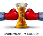 pharmaceutical pressure and...   Shutterstock . vector #751833019