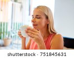 people and leisure concept  ...   Shutterstock . vector #751845631