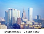 background of cityscape concept ... | Shutterstock . vector #751854559