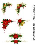 christmas elements for your... | Shutterstock .eps vector #751860619