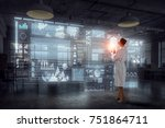 high technologies for your... | Shutterstock . vector #751864711