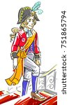 fairy tale prince | Shutterstock . vector #751865794