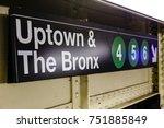new york   13 nov  sign in a... | Shutterstock . vector #751885849