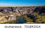 The Perrine Bridge is a truss arch span in the western United States, carrying traffic over the Snake River,  located at Twin Falls, Idaho.