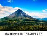 arenal valcano | Shutterstock . vector #751895977