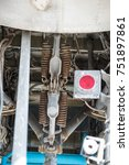 the chassis of the aircraft | Shutterstock . vector #751897861