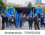 frankfurt  germany  sept 10  ...   Shutterstock . vector #751921531