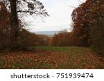 scenic view of appalachian... | Shutterstock . vector #751939474