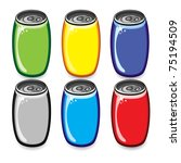 Colorful Drink Cans....