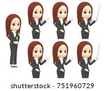 oblique angle woman suits... | Shutterstock . vector #751960729