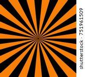 orange and black  halloween... | Shutterstock .eps vector #751961509