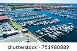 hillarys boat harbour | Shutterstock . vector #751980889
