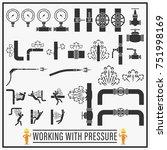 working with pressure vector...   Shutterstock .eps vector #751998169