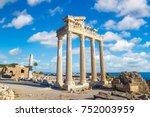 Ruins Of The Temple Of Apollo...