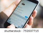 chiang mai  thailand   nov 10 ... | Shutterstock . vector #752037715