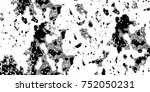 grunge background of black and... | Shutterstock . vector #752050231