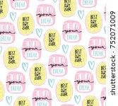 love lettering phrases | Shutterstock .eps vector #752071009