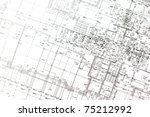 background of architectural... | Shutterstock . vector #75212992