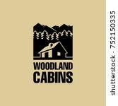 cabin icon  | Shutterstock .eps vector #752150335