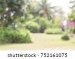 Garden Blurry Background