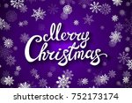 violet background with... | Shutterstock .eps vector #752173174