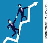 business concept illustration...   Shutterstock .eps vector #752199844