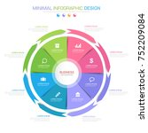 infographic elements with...
