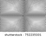 abstract halftone dotted grunge ... | Shutterstock .eps vector #752235331