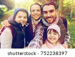 travel  tourism  hike and... | Shutterstock . vector #752238397