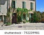 france  provence. vaison la... | Shutterstock . vector #752239981