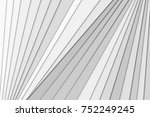 clean white gray corporate... | Shutterstock . vector #752249245