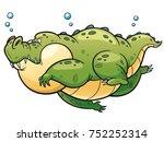vector illustration of cartoon... | Shutterstock .eps vector #752252314
