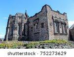 edinburgh  scotland   june 5 ... | Shutterstock . vector #752273629