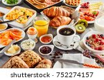 Huge Healthy Breakfast Spread...