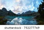 darashkol lake in the altai... | Shutterstock . vector #752277769