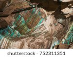 abstract texture of the...   Shutterstock . vector #752311351