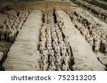 xi'an  shaanxi province  china  ... | Shutterstock . vector #752313205