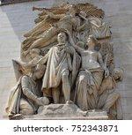 """sculpture """"the triumph of...   Shutterstock . vector #752343871"""