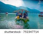 pokhara  nepal   september 04 ...   Shutterstock . vector #752347714