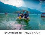 pokhara  nepal   september 04 ... | Shutterstock . vector #752347774