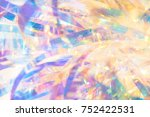 abstract gold and blue elegant... | Shutterstock . vector #752422531