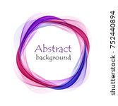 abstract background with...   Shutterstock .eps vector #752440894