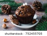 Chocolate Muffin And Branches...