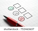 customer satisfaction survey... | Shutterstock . vector #752463637