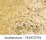 aluminum foil background   Shutterstock . vector #752472751