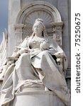 queen victoria memorial | Shutterstock . vector #75250675