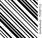 abstract black and white...   Shutterstock .eps vector #752587711